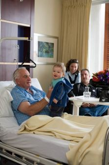 Patient and Visitors Comfort at Grace Hospital Tauranga